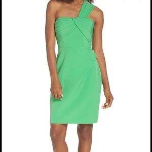 Vince Camuto, green dress